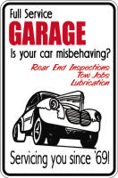 Is Your Car Misbehaving Sign