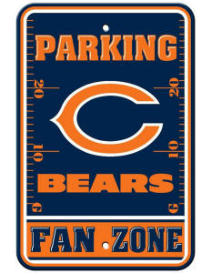 Chicago Bears - Parking Sign