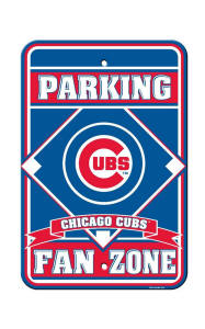 Chicago Cubs - Parking Sign