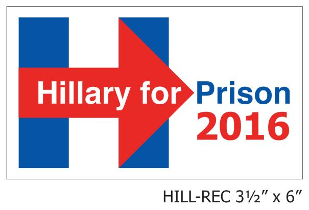 Hillary for Prison - Rectangular