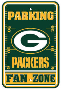 Wisconsin Packers - Parking Sign