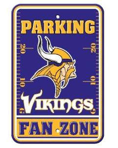 Minnesota Vikings - Parking Sign